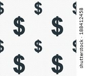 dollars sign icon. usd currency ... | Shutterstock .eps vector #188412458