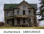 Old Abandoned House In The...