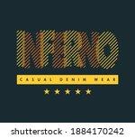 vector graphic of lettering... | Shutterstock .eps vector #1884170242