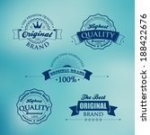 collection of premium quality... | Shutterstock .eps vector #188422676
