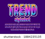 vector of modern colorful... | Shutterstock .eps vector #1884235135