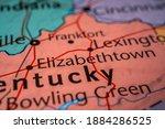 Elizabethtown on the USA map