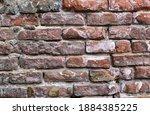Brick Wall. Old Red Brick....