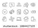 money transfer  laptop and... | Shutterstock .eps vector #1884427105