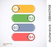 design template   can be used... | Shutterstock .eps vector #188442908