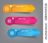 modern text box template ...   Shutterstock .eps vector #1884434518