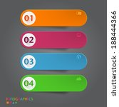 infographics banner  label  tag ... | Shutterstock .eps vector #188444366