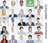 Portraits Of Multiethnic...