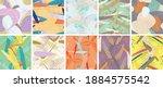 abstract vector seamless... | Shutterstock .eps vector #1884575542