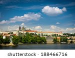 view on the prague  charles... | Shutterstock . vector #188466716