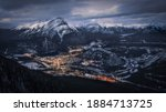 View Of The City Of Banff  From ...