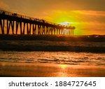 Hermosa Beach Pier During...