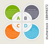 abstract paper infographic....