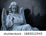 Statues At The Cemetery Of The...