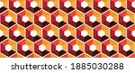 combination of hexagon forms a... | Shutterstock .eps vector #1885030288
