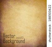 vector grunge textured paper | Shutterstock .eps vector #188503622