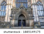 Portal Of High Kirk   Cathedral ...