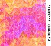 spectrum pattern of rhombus... | Shutterstock .eps vector #188520566