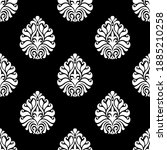 seamless vector damask... | Shutterstock .eps vector #1885210258