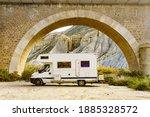 Caravan In Tabernas Desert...