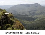 view across the valley at echo... | Shutterstock . vector #18853519