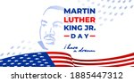 Martin Luther King Day. Vector...