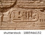 ancient egyptian writing ... | Shutterstock . vector #1885466152