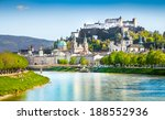 Beautiful View Of Salzburg...