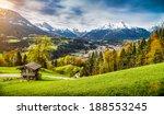 panoramic view of beautiful... | Shutterstock . vector #188553245