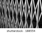 old style metal grill gates | Shutterstock . vector #188554