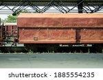 Open Hopper Car Wagon On...