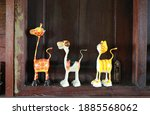 Animal Toy Decorated At The...