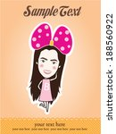 scrapbook design elements  cute ... | Shutterstock .eps vector #188560922