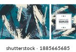 seamless brush stroke pattern.... | Shutterstock .eps vector #1885665685
