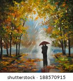 Oil Painting On Canvas   Coupl...