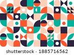 geometry minimalistic artwork... | Shutterstock .eps vector #1885716562