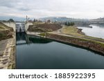 The Dalles Lock And Dam Built...