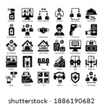 new normal 30 glyph solid icons ...