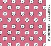 cartoon bear background | Shutterstock .eps vector #188625932