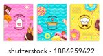 set of banners for cooking... | Shutterstock .eps vector #1886259622