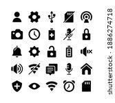 basic ui glyph icons including...