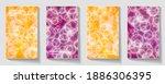 flyer design   business. modern ... | Shutterstock .eps vector #1886306395