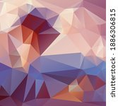 riangle pattern.  vector blurry ... | Shutterstock .eps vector #1886306815