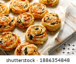 French Puff Pastry Pinwheels...
