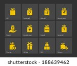 set of gift box symbols. see...