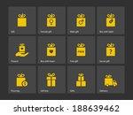 set of gift box symbols. see...