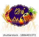 vector illustration of happy... | Shutterstock .eps vector #1886401372