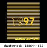 vector graphic of lettering...   Shutterstock .eps vector #1886444632