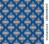 ikat geometric folklore...   Shutterstock .eps vector #1886448445