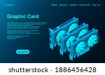 3d Isometric Video Graphic Card....